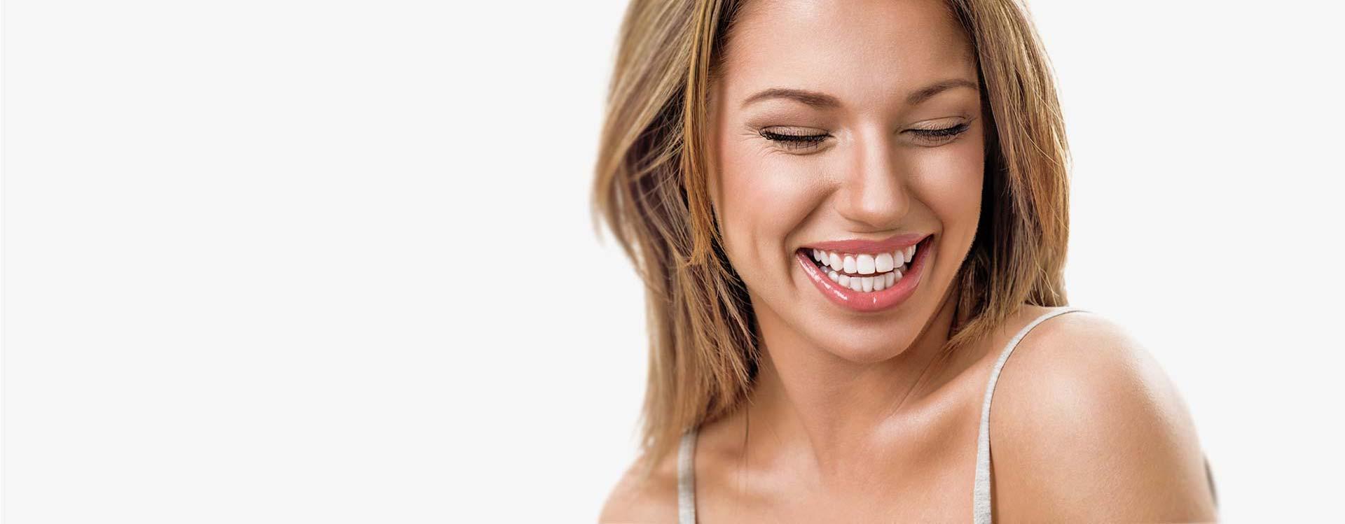 Een stralende lach